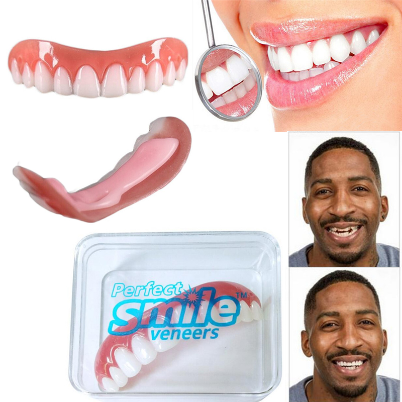 Professional Perfect Smile Veneers Silicone Bad Teeth Correction Teeth Whitening Denture Braces Dental Protectors For Unisex