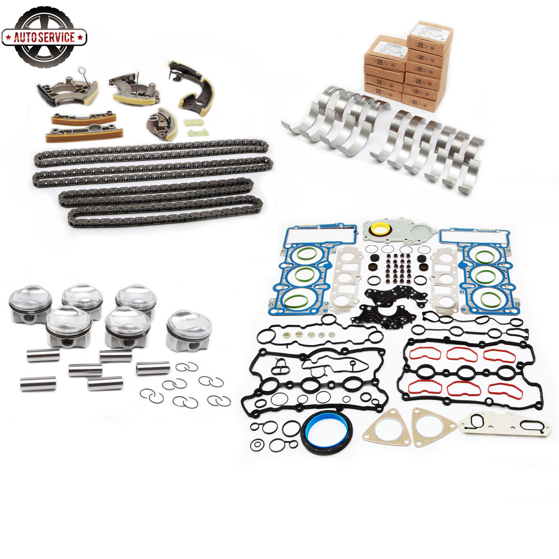Moteur Piston culasse couvercle de soupape joint joint joint de cylindre kit de réparation pour Audi A4 A5 A6 A7 A8 Q5 Q7 VW Touareg 3.0T