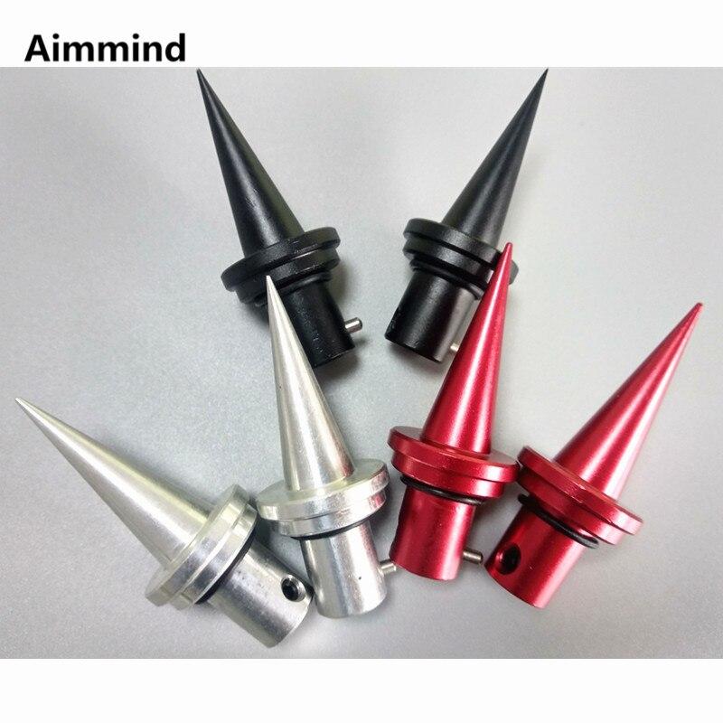 Atlas V8 Bipod Spike Quick Change Feet Bipod Feet Replacement 2pcs CNC Aluminum Hunting Accessories(China)