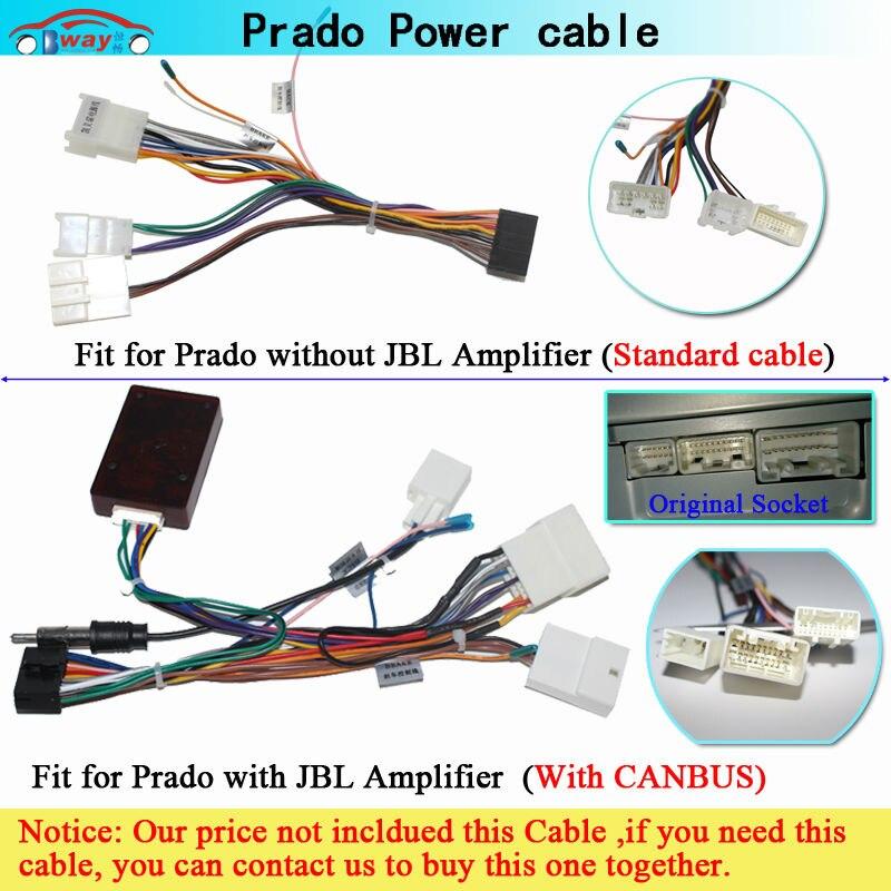 Prado power cable