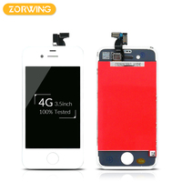 20PCS Wholesale Grade AAA Quality LCD Display For IPhone 4 Touch Screen With Digitizer Assembly In