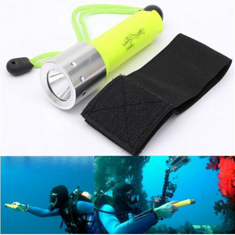 2000LM CREE XML-T6 Underwater 50 Meters led Flashlight Lantern underwater scuba Flashlights 18650 Powerful light lamp for diving фонарик hedeli 2000lm xml t6 flashlgiht ficklampa latarka hs506b