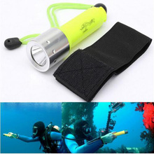 2000LM CREE XML-T6 Underwater 50 Meters led Flashlight Lantern underwater scuba Flashlights 18650 Powerful light lamp for diving