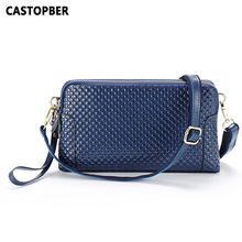 Doppel-reißverschluss Tasche Frauen Messenger Bags Geprägt Split Leder Rindsleder Handtaschen Crossbody Damen Weibliche Tag Kupplungen Hohe Qualität