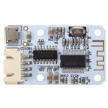 LEORY amplificador DIY 2x3W Micro USB altavoz inalámbrico bluetooth receptor de Audio amplificador Digital de