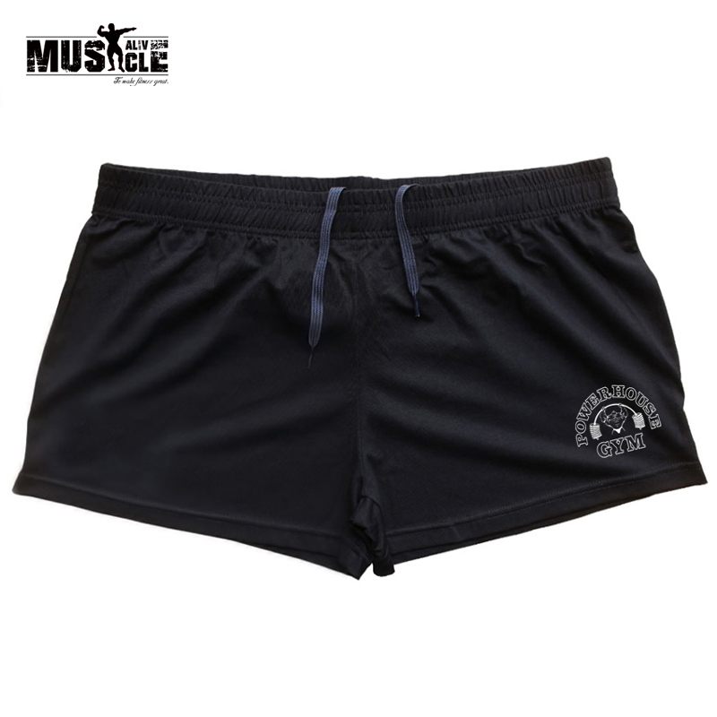 Clothing Short-Pants Bodybuilding Sports Running Men for Man Fitness Cotton Exercise