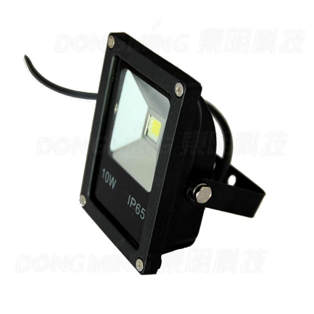 RGB LED Floodlights 10W black cover DC 12V IP65 Outdoor LED Flood Light reflector Landscape