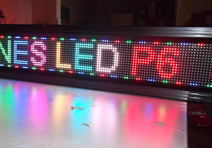 Image 4 - TEEHO P6 Indoor SMD RGB Full Color Led Display Module 1/16scan 384*192mm 64*32 pixel P6 LED Module