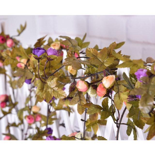 Online shop wedding decoration vintage retro artificial flower silk artificial flower vine 03 junglespirit Choice Image