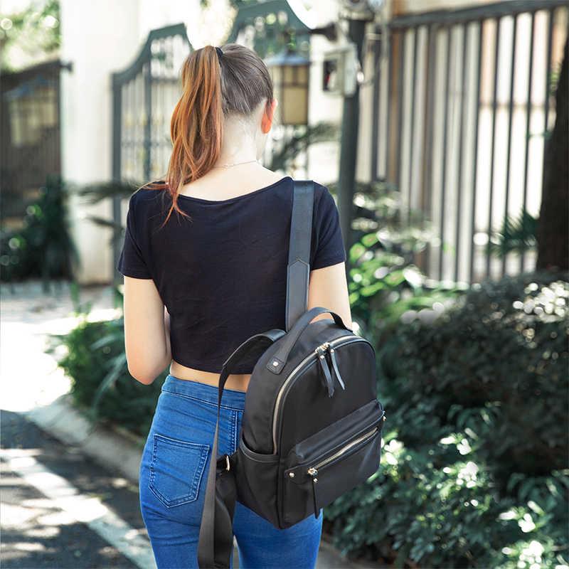 LOVEVOOK plecak kobiety szkolne torby kobiece plecaki dla dziewcząt nastolatki kobiety z zabezpieczeniem przeciw kradzieży plecak oxford wodoodporna torba 2020
