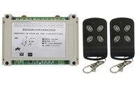 110V 220V 380V 4CH Smart Home 30A RF Wireless Remote Control System Radio Wireless Lighting