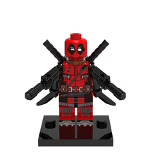 XH190 Deadpool Marvel Super Heroes Avengers Figures Single Sale Building Blocks Models Building Toys For Children