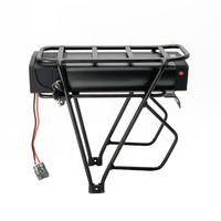 48V 1500W electric bike battery 48V 20AH Lithium Battery pack 48V Rear Rack Battery with USB port+54.6V 2A Charger duty free