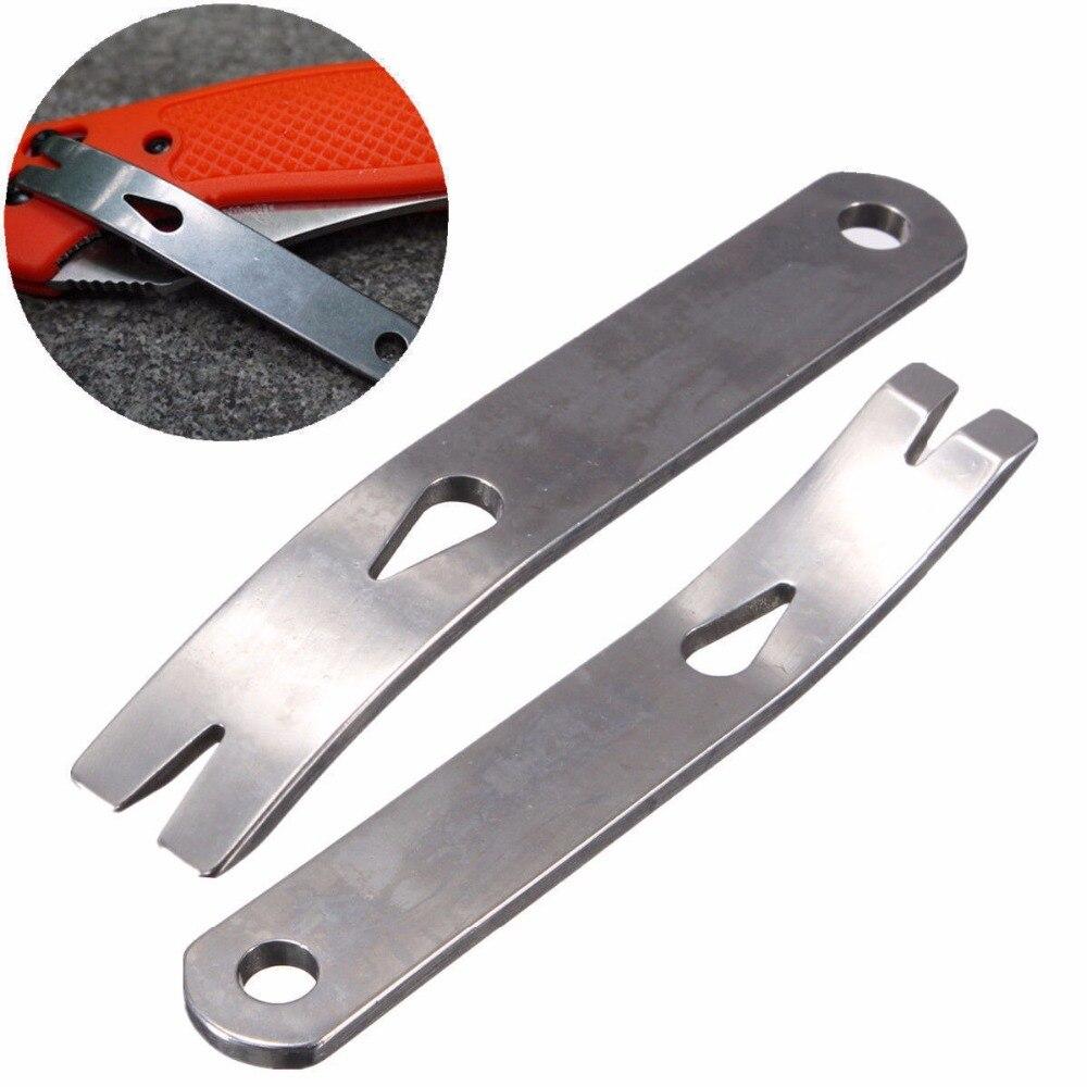 Gear Mini Crank Crowbar Pocket Pry Bar Keychain Multi Tool Survival Scraper EDC Multi Function Tools Stainless Steel Camping Kit