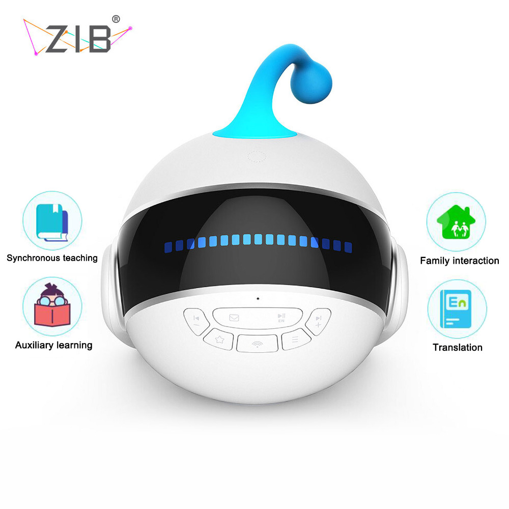 TAIHONGYU High-tech Wireless Remote Electronic Smart Robot Children Chinese Learning Voice Dialogue Story Gift Education Toy