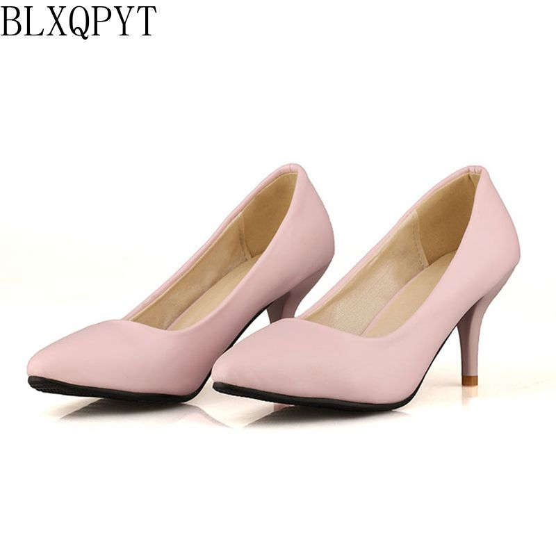 5 Colour New Fashion Sexy Pointed Toe Women Pumps Platform High Heels  Ladies Wedding Party Plus 3bbc1aa32336