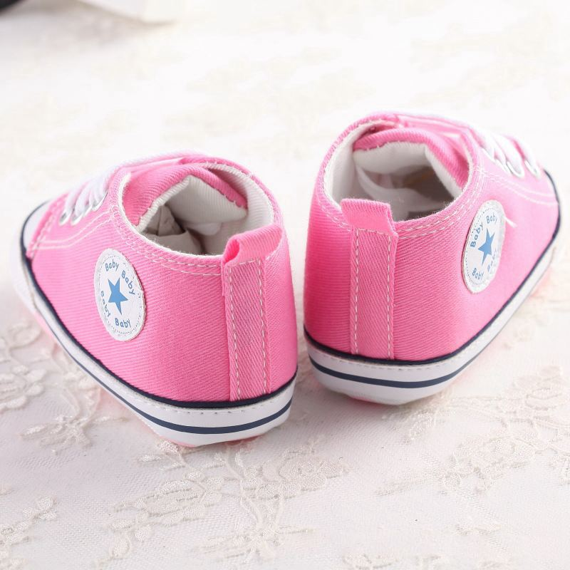 MUABABY-Summer-Baby-Shoes-Toddler-Boys-Girls-First-Walker-Canvas-Soft-Sole-Infant-Shoes-Kids-Newborn-Stars-Lace-Up-Baby-Sneakers-2