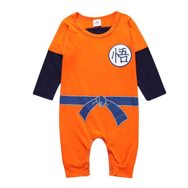 f7aafe0e28959 Newest Dragon Ball Baby Rompers Spring Summer SON GOKU Baby Boy Clothes  Newborn Girls Jumpsuit Infant Toddler Clothing Body Suit