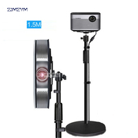 PB01E Projector Floor Stand 85 150 cm Height Pan Tilt Bracket For H1S Z5 G3 J6S C6 and Other LCD DLP Projector
