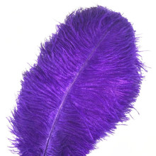 Wholasale Plurple Ostrich Feathers for Crafts 15-70cm Carnival Costumes Party Wedding Decorations Natural Feather Plumas Plumes