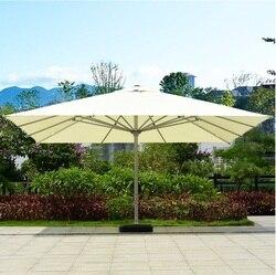 Extra Grootte van 5x5 m/6x6 m Parasols voor Gazon Strand Achtertuin Buiten Evenementen