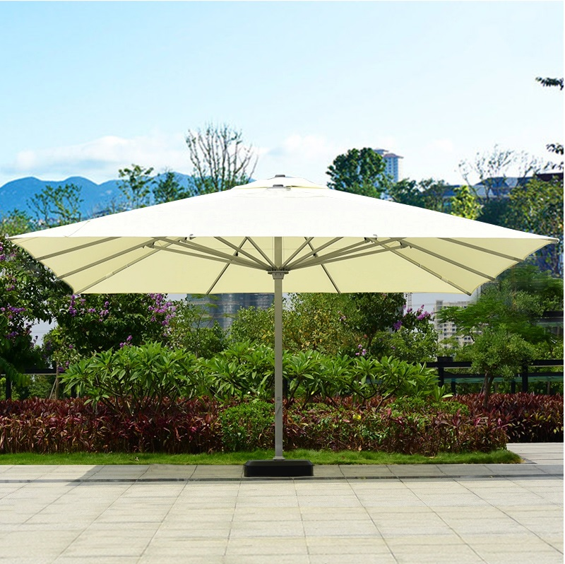Extra Size Of 5x5m / 6x6m Parasols For Lawn Beach Backyard Outside Events