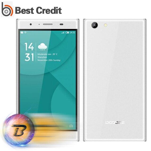 """Original Doogee Y300 4G LTE Mobile Phone 5.0"""" 720P Android 6.0 MT6735 Quad Core 2G RAM 32G ROM 2200mAh 8.0MP Camera"""