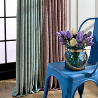 1piece Persian Chenille Thicken Bedroom Curtains Lau Xne9035 Readymade Window Blinds Classic Blackout Living Room