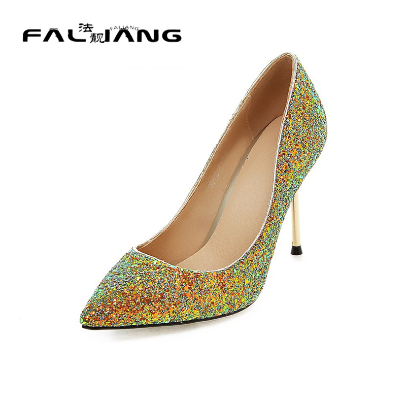 ФОТО Big Size 11 12 Elegant Pointed Toe Shallow Casual Thin Heels Women's Shoes Extreme High Heels Pumps Woman For Women