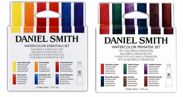 daniel smith watercolor primatek set essentials set alvaro