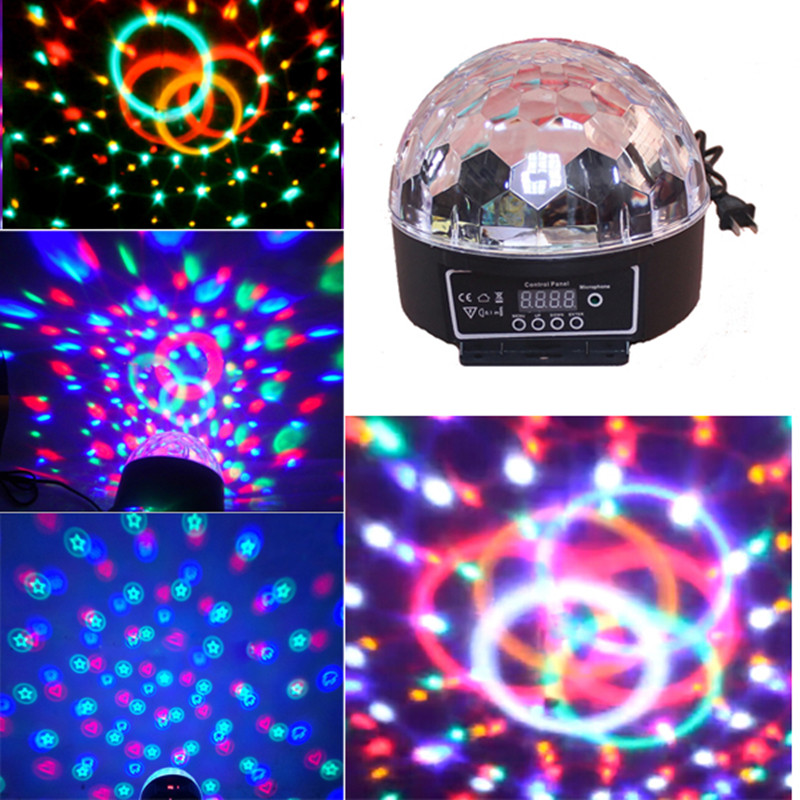 LED Stage Lamps 20W Disco Stage Lighting Digital LED RGB Crystal Magic Ball Effect LightLED Stage Lamps 20W Disco Stage Lighting Digital LED RGB Crystal Magic Ball Effect Light