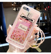 Bling Polish Liquid Phone Case iPhone 6 6s Plus 7 7 Plus 8 X
