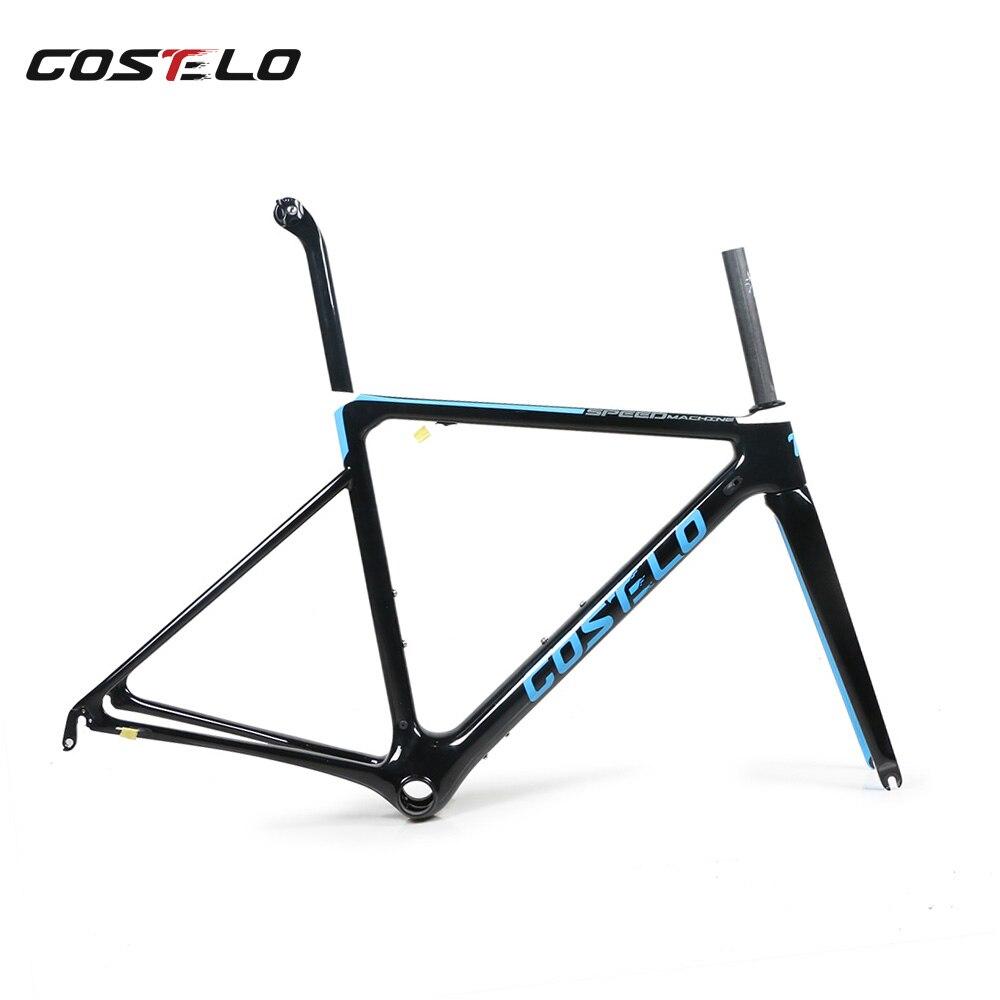 2018 Costelo Speedmachine ultralight carbon fiber road bike frame Costelo bicycle bicicleta frame carbon fiber bicycle frame