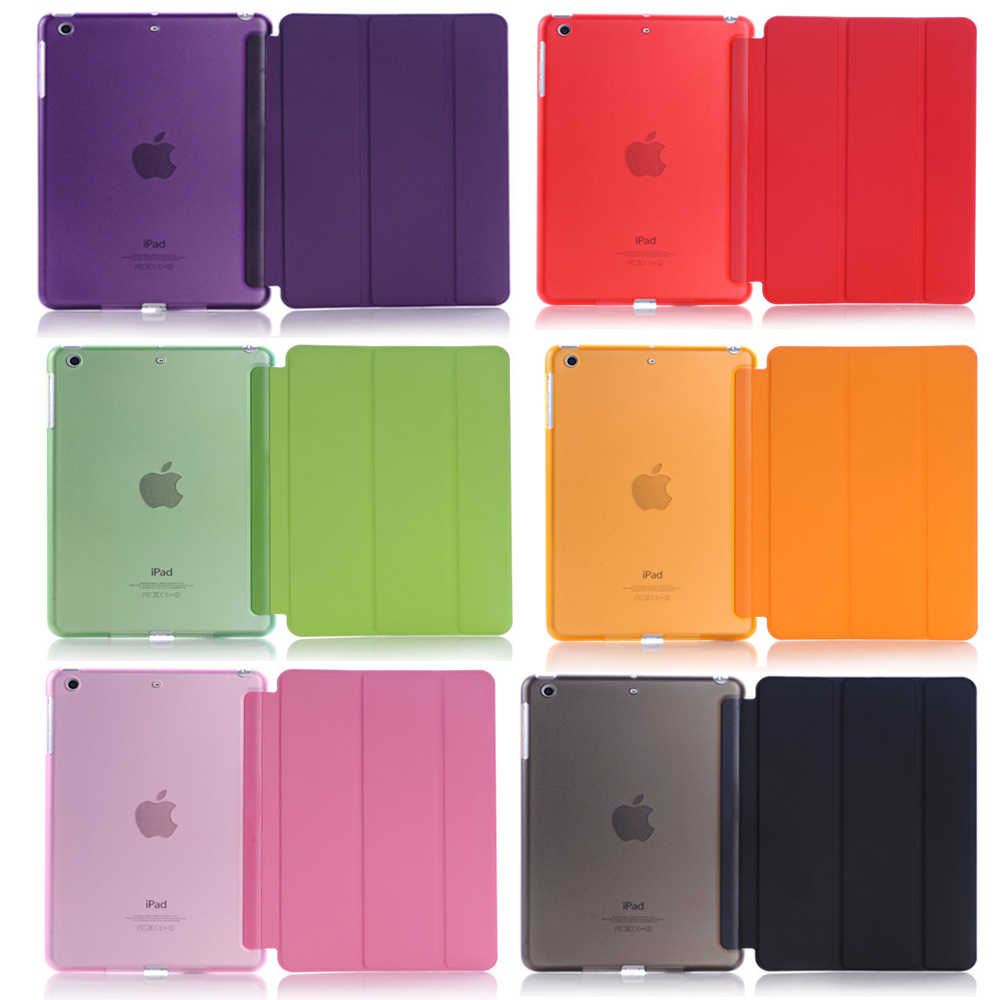 Para Apple iPad mini 4 Sleeping Wakup ultra Slim Funda de cuero inteligente para iPad A1538 A1550