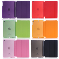For Apple IPad Mini 4 Sleeping Wakup Ultral Slim Leather Smart Cover Case