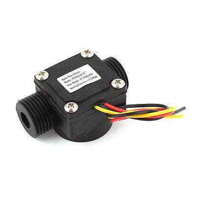 Plastic Shell 0.5-30L/min 1.2Mpa G1/2 Thread Water Flow Rate Sensor Flowmeter FS200APlastic Shell 0.5-30L/min 1.2Mpa G1/2 Thread Water Flow Rate Sensor Flowmeter FS200A