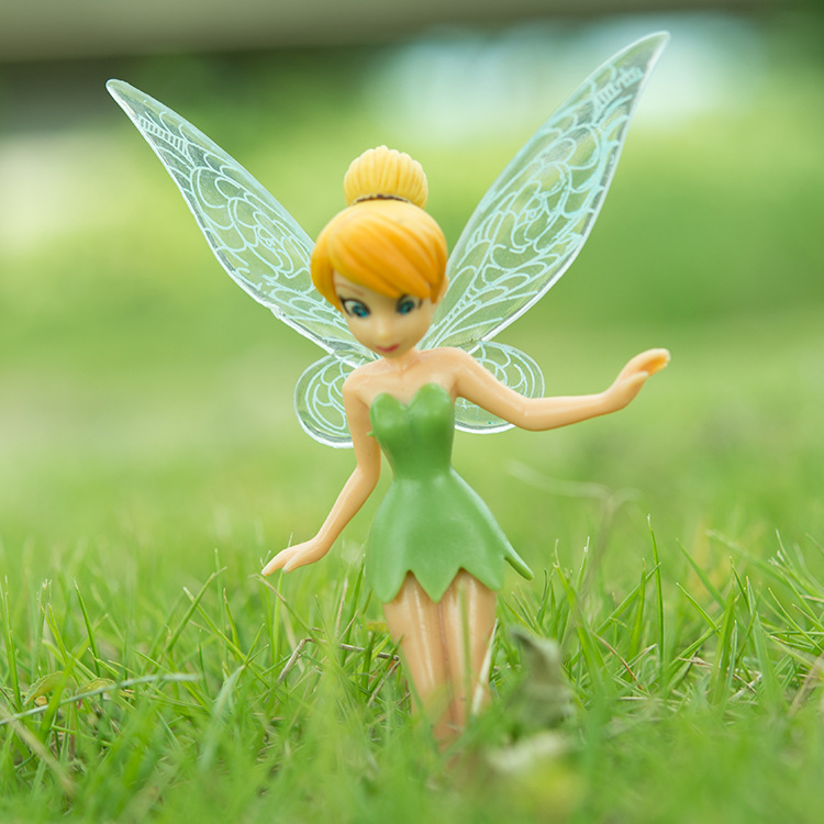 High Quality PVC (6pcs/set) Tinkerbell Fairy Adorable tinker bell Figures Toy Toys Free Shipping Retail-in Action & Toy Figures from Toys & Hobbies on ...