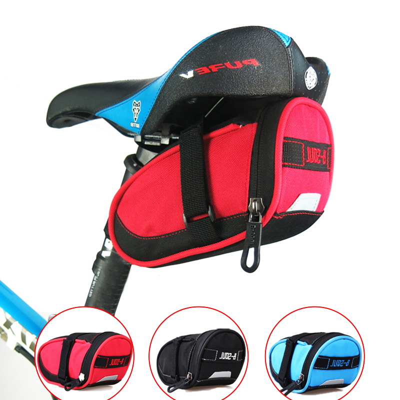 3 Colors Waterproof Mountain Road Bicycle Tail Bag Saddle Bags Bike Pouch Reflective Cycling Seat Bag Велосипед