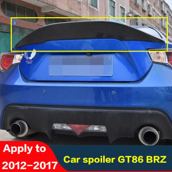 For Toyota 86 GT86 Spoiler Subaru BRZ Carbon Fiber Rear Lip Rear Spoiler High Quality Colored Rear Wing Tail Fin2012-2017 Spare image