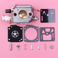 2 Fuel Line Carburetor Carb Repair Rebuild Kit For Husqvarna 340 345 346XP 350 353 Chainsaw Replacement Part