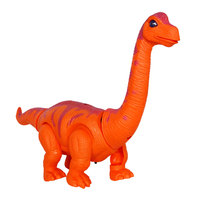 Dinosaur Model Toy Walking Inductive Electric Dinosaur Toy Flashing Interactive Plastic Cement Educational Laying Eggs Dinosaur