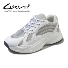 Liren Brand 2019 New Spring Shoes Women Casual Sneakers Fashion Popular Old Dad Platform Breathable Summer