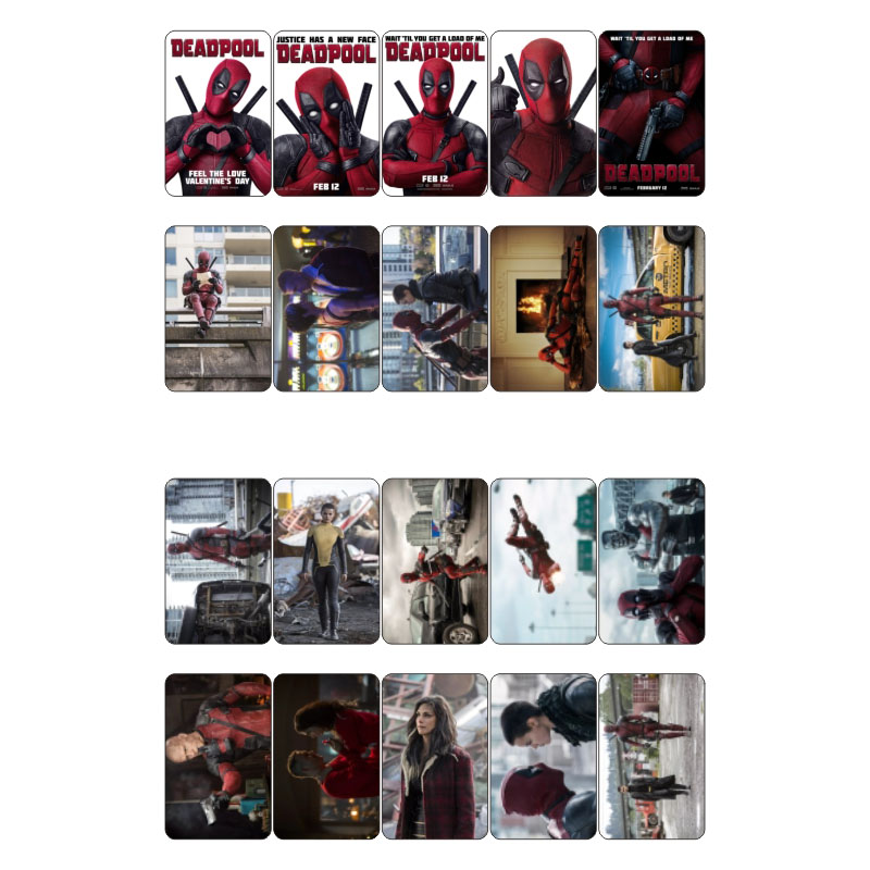 Detail Feedback Questions About 1 Pcs X Men Deadpool Movie Theme