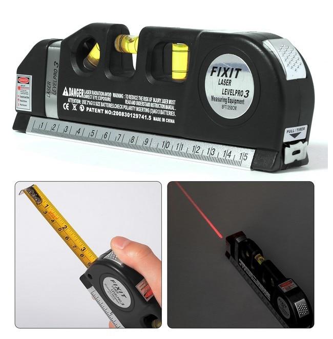Multi-function Laser Level Ruler Measuring Ruler Infrared Marking Ruler