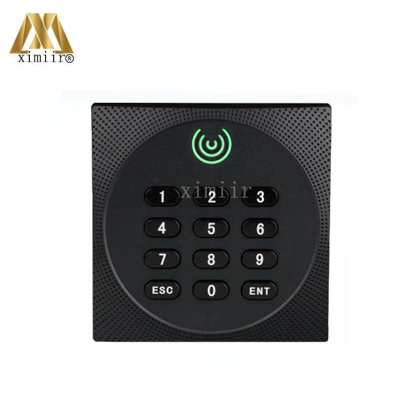 ZK KR602 IP64 Waterproof Smart Card Reader With Keypad And Led Card Access Control Reader Keypad Wiegand26 Smart Card Rader zk 13 56mhz ic card mf card door access control card reader with weigand34 ip65 waterproof smart card reader with two led light