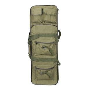 Image 4 - Tático ombro mochila resistente náilon rifle arma coldre bolsa 118cm saco de desporto ao ar livre caça arma saco