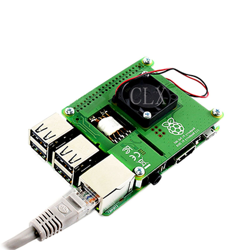 Raspberry Pi 3 Model B Power over Ethernet HAT 802 3af PoE Network Power Sourcing Equipment