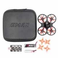 Livraison gratuite Emax 2S Tinyhawk S FPV Kit de Drone de course avec caméra 0802 15500KV Support moteur sans brosse 1/2S batterie RC avion
