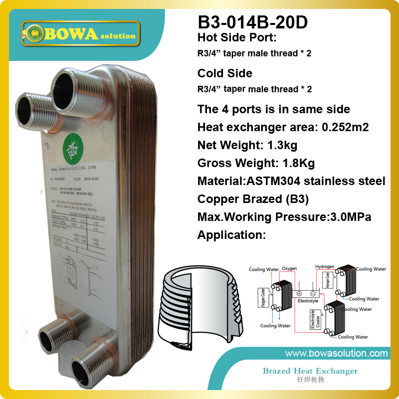 20pcs plates stainless steel heat exchanger for boat heat exchanger equipment replace danfoss plate heat exchanger 60 plates heat exchanger for r410a air conditioners or heat pump equipments replace danfoss xb plate heat exchanger