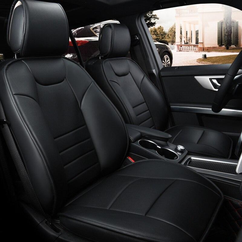 Genuine leather font b car b font seat cover set customization the 99 font b car